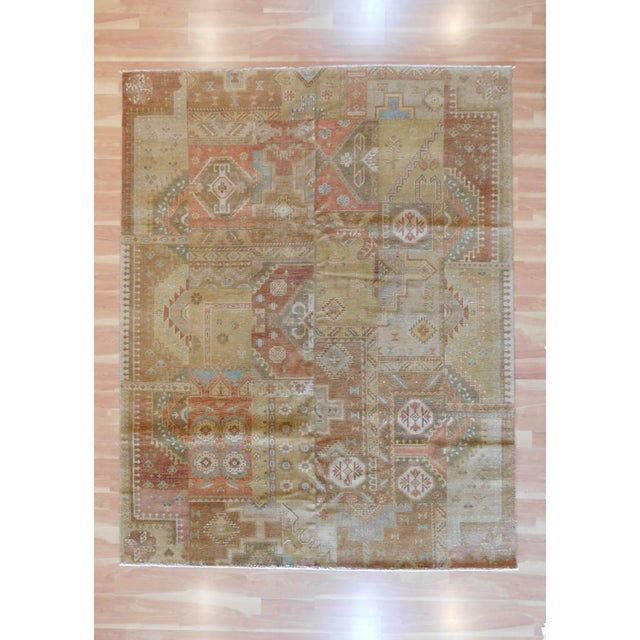 Indo Handmade Patchwork Rug - 8' x 10' For Sale In Nashville - Image 6 of 6