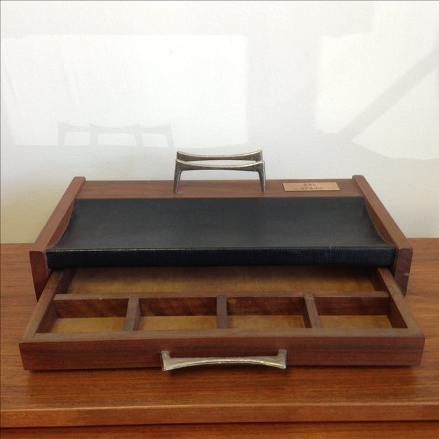 Mid-Century Desk Organizer by Don Lopez - Image 6 of 11