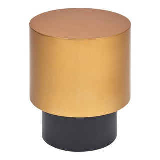 Benton Side Table in Gold