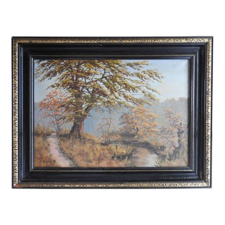 Secluded Path Landscape Painting For Sale