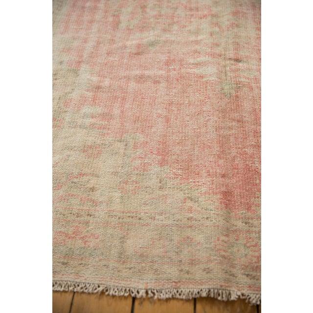 "Vintage Distressed Oushak Carpet - 6'2"" X 10'8"" For Sale - Image 9 of 13"