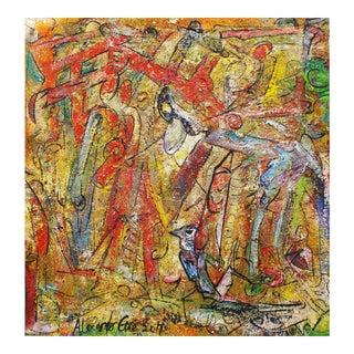 """Alexander Gore Original Oil Painting - """"Hard Rush"""""""