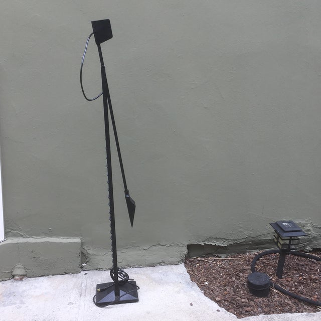 1980 Tizio Style Halogen Floor Lamp For Sale - Image 10 of 11