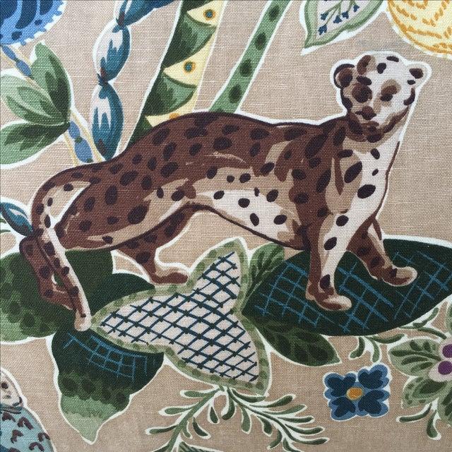 Cowtan & Tout Printed Jungle Pillows - A Pair - Image 3 of 5