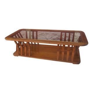 Vintage Mid-Century Modern Adrian Pearsall Style Coffee Table For Sale