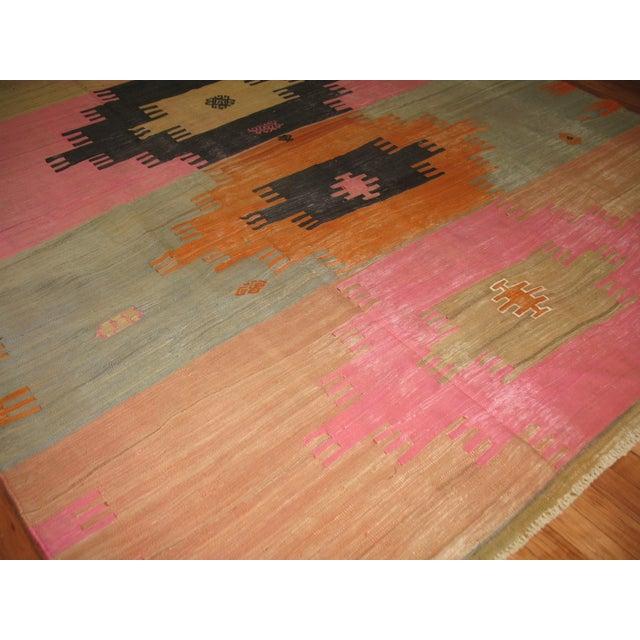 Islamic Vintage Kilim Rug - 7' X 10'2'' For Sale - Image 3 of 8