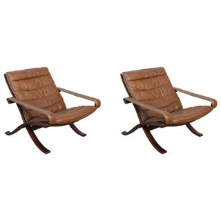 Ingmar Relling Folding Safari Chairs - A Pair