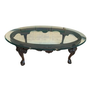 Henredon-Rittenhouse Square Claw & Ball Cocktail Table For Sale