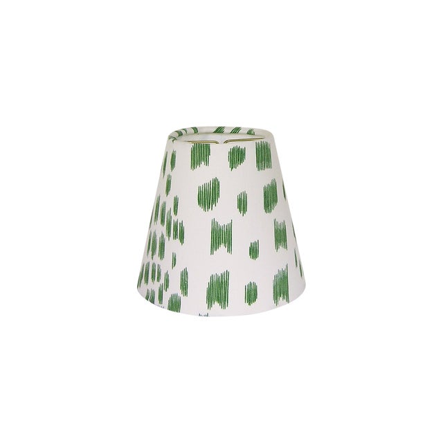 Green Animal Print Sconce or Chandelier Shade For Sale