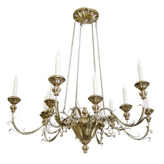 Elegant Veneto Italian Designer Chandelier by Randy Esada Designs For Sale