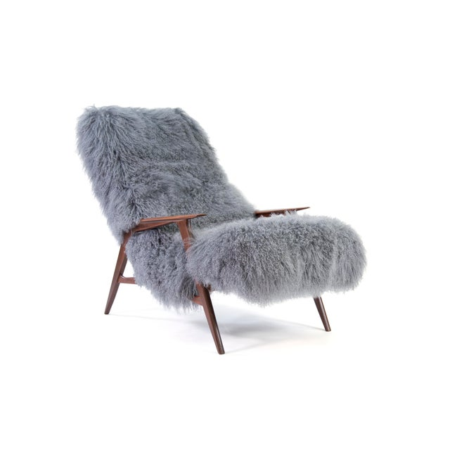 "Here is an extremely rare 1959 ""Siesta"" model lounge chair by JIO Möbler that we recently imported from Denmark. Beautiful..."