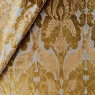 Boho Chic Christopher Hyland Vivald Cut Velvet Designer Fabric by the Yard Preview