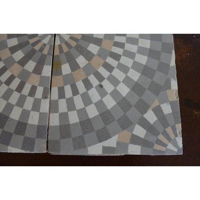 Antique Belgian Ceramic Tiles - Set of 4 - Image 6 of 11