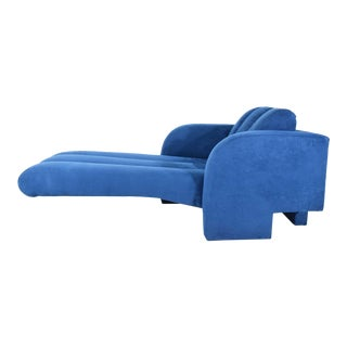 Vladimir Kagan Deco Chaise, 1970s For Sale