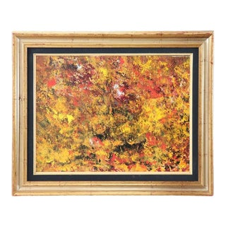 "Mixed Technique Painting on Board Title ""Autumn"", 2012 For Sale"