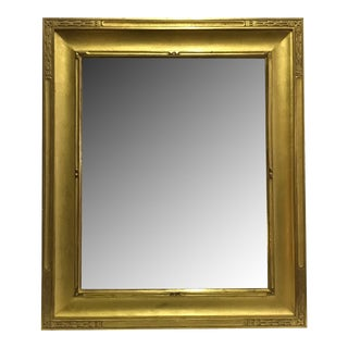 Impressionist American Water Gilded Mirror For Sale