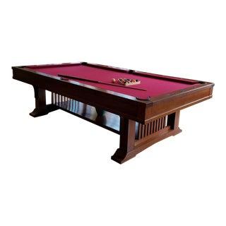 Brunswick Centennial Craftsman Pool Table