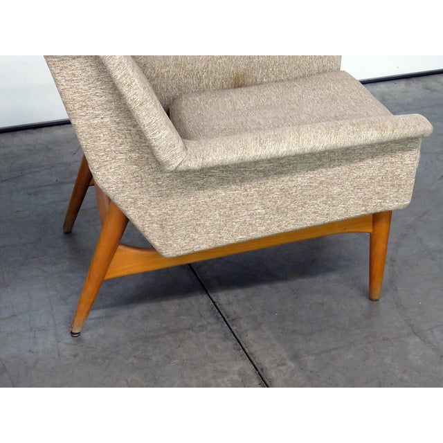 Teak Pair of Danish Modern Lounge Chairs For Sale - Image 7 of 9
