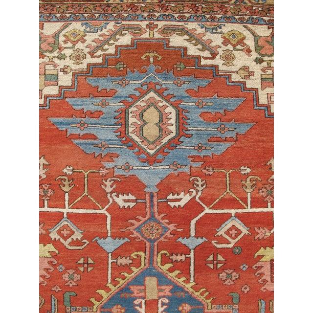 Serapi (Heriz) Carpet For Sale - Image 4 of 7