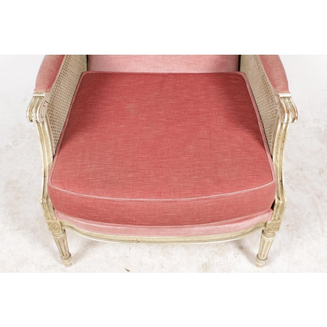 1930s Louis XVI Style Bergere Chairs - A Pair - Image 6 of 10