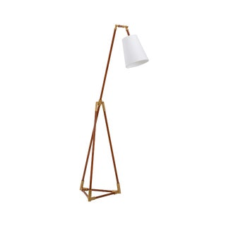 Chelsea House Inc Triangular Floor Lamp For Sale