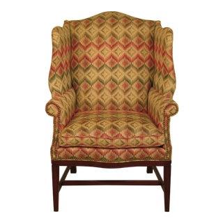 Hancock & Moore Hammett Federal Style Mahogany Wing Chair
