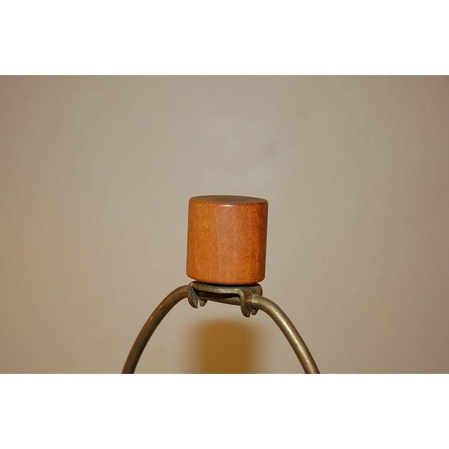 Martz for Marshall Studios Glazed Table Lamp For Sale - Image 5 of 5