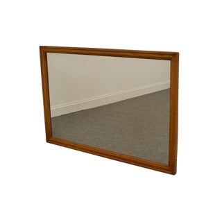 "Traditional Solid Maple 50"" Dresser / Wall Mirror For Sale"