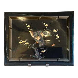 Vintage Papier Mache Inlaid Book Cover Wall Hangings For Sale