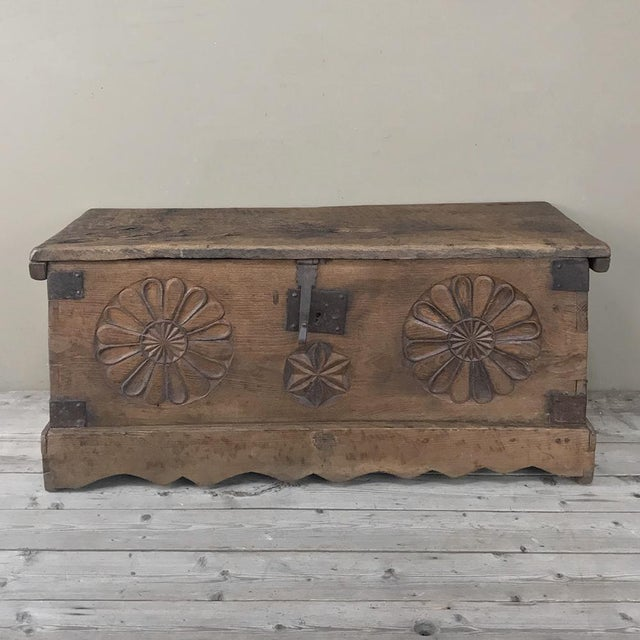 17th Century Spanish Trunk For Sale - Image 12 of 12