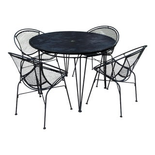 Maurizio Tempistini for Salterini Radar Patio Set For Sale