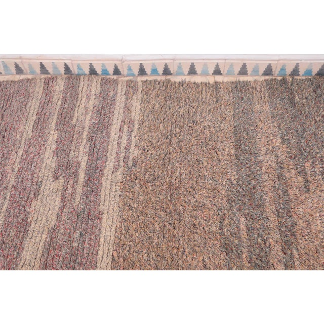 """Islamic Vintage Azilal Moroccan Rug - 2'7"""" x 7'11"""" For Sale - Image 3 of 4"""