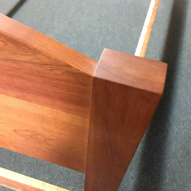 Richard Bissell Solid Cherry Twin Bed - Image 7 of 8