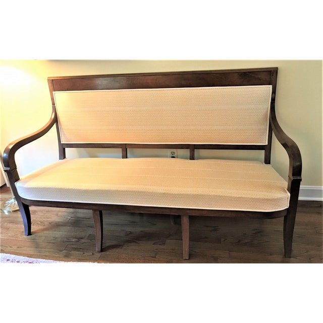 French Fortuny Upholstered Bench - Image 2 of 9