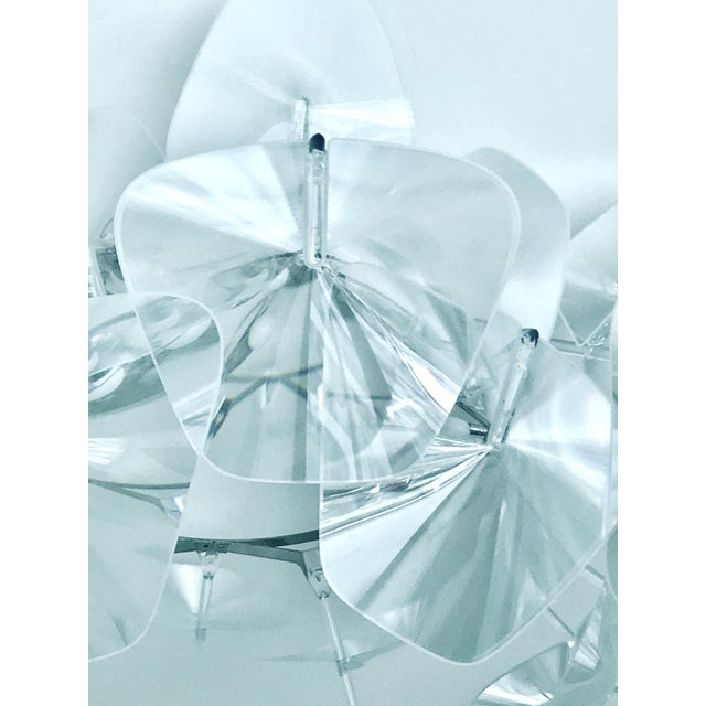 Hope Modernist Ceiling Light With Reflective Prisms by Luceplan, Italy 2018 For Sale - Image 10 of 13