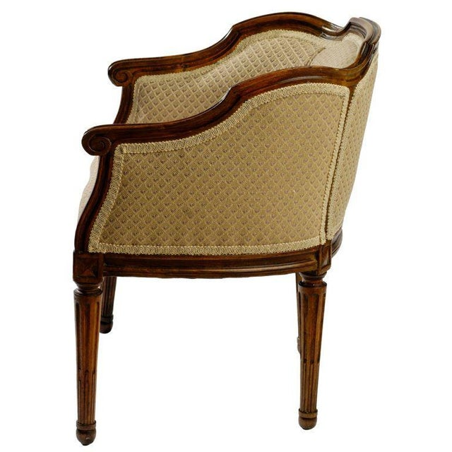 Children's Child Size Louis XVI Bergere For Sale - Image 3 of 8