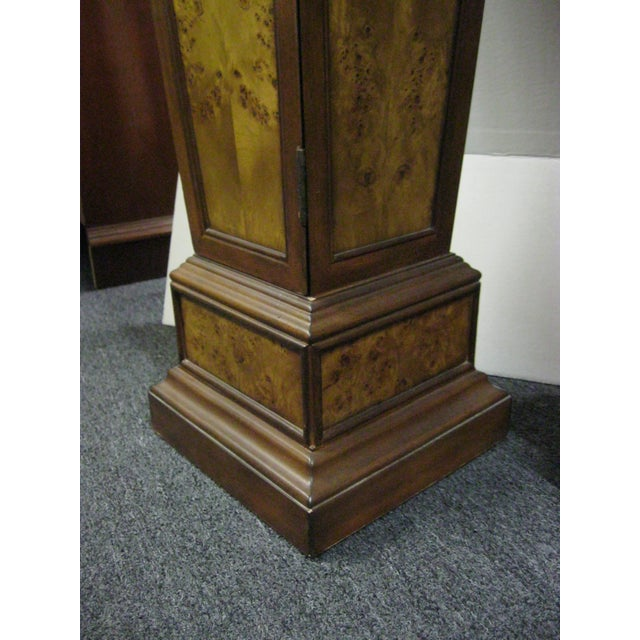 Brown Pedestal Storage Cabinets- A Pair - Image 6 of 10