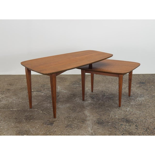1950s Bertha Schaefer Folding Coffee Table For Sale In New York - Image 6 of 12