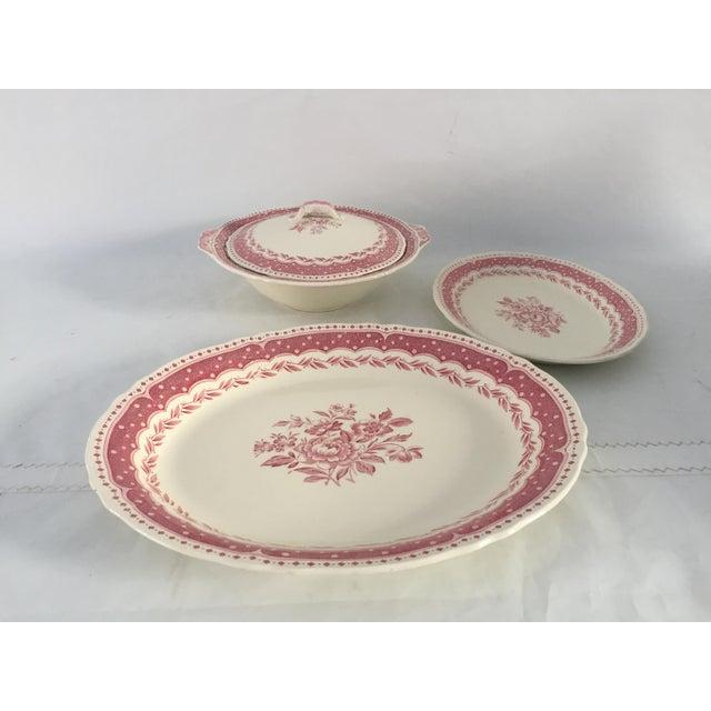 Vintage Avon Pattern Grindley-England Serving Dishes - Set of 3 For Sale - Image 9 of 9