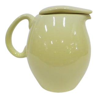 """Vintage Mid-Century Modern Russel Wright 7"""" Covered Pitcher, C1940s. For Sale"""