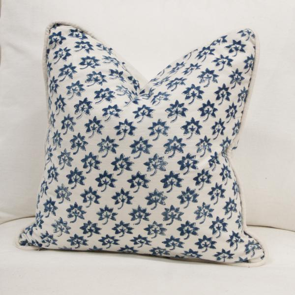 Les Indiennes Fabric Pillow Cover - Image 2 of 5