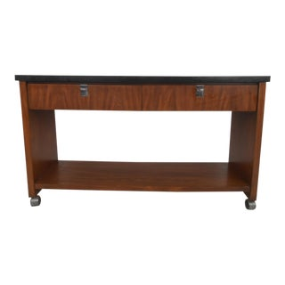 Mid-Century Modern Serving Console by Jb Van Sciver For Sale