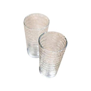 Idika Recycled Glass Small Dot Glasses - A Pair For Sale