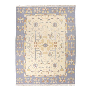 """Southwestern Design India Dhurrie, 7'10"""" X 10'1"""" For Sale"""
