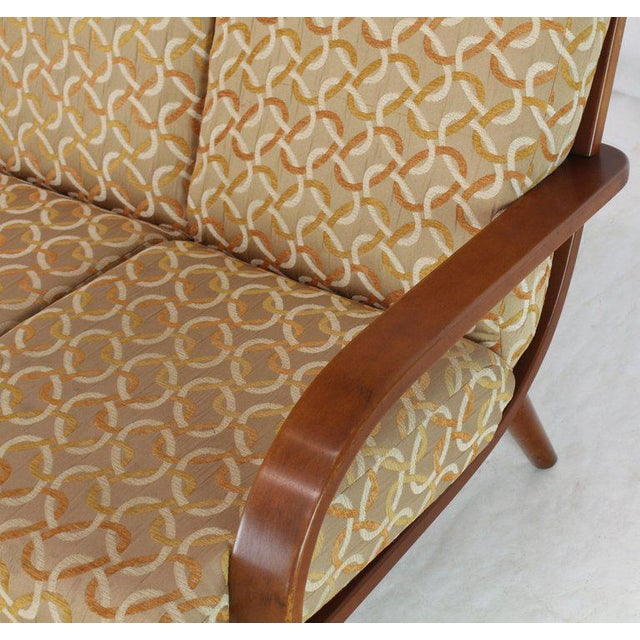 Conant Ball Russel Right Solid Bent Maple Sofa For Sale - Image 9 of 13