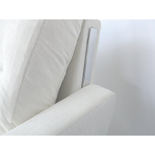 White Danish Modern Sofa by Johannes Andersen - Image 8 of 10