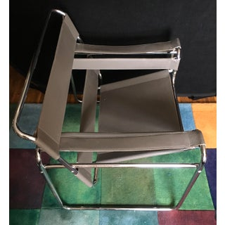 Vintage Marcel Breuer Grey Wassily Chair Preview