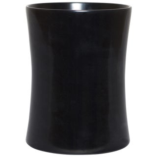 Black Marble Waste Bin For Sale