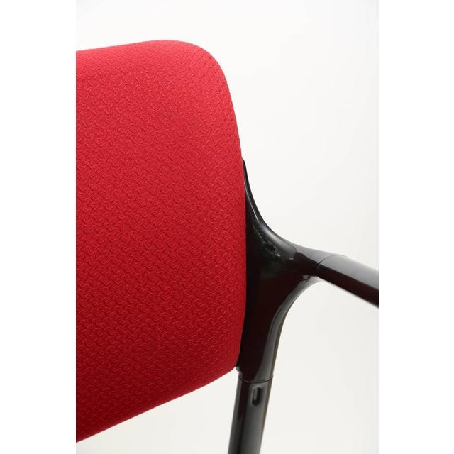Textile Set of Four Herman Miller Mod Chairs, 1960s, Usa For Sale - Image 7 of 8