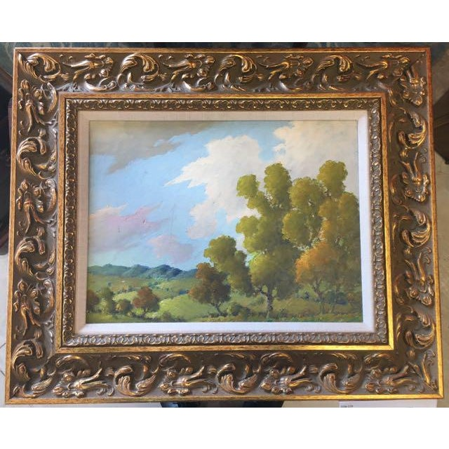 Blue Ridge Mountains Landscape Painting Attr. B B Moore For Sale - Image 4 of 5